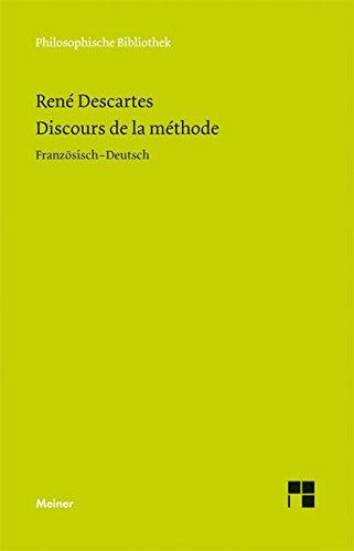 Discours de la Méthode: Im Anhang: Brief an Picot. Adrien Baillet: Olympica (Philosophische Bibliothek)