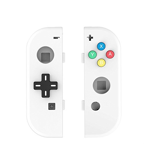 Price comparison product image Myriann Translucent NS Joycon Handheld Controller Housing With D-Pad Button DIY Replacement Shell Case for Nintendo Switch Joy-Con (L / R) Without Electronics