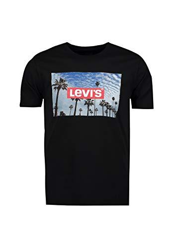 Levi's Herren Ss Original Hm Tee T-Shirt, Mineral Black, XL -