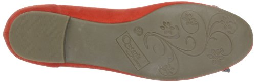 Queens HCL0301 24014, Ballerine donna Rosso (Rot (light red 10))