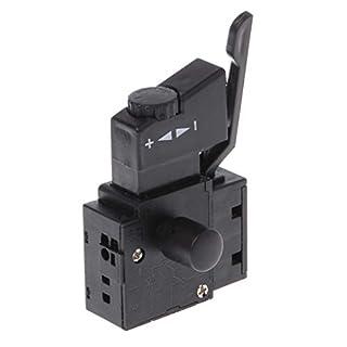 Gankmachine Hohe Qualität 10A Lock on Power Tool Elektrische Drill Speed   Control Trigger-Button Switch