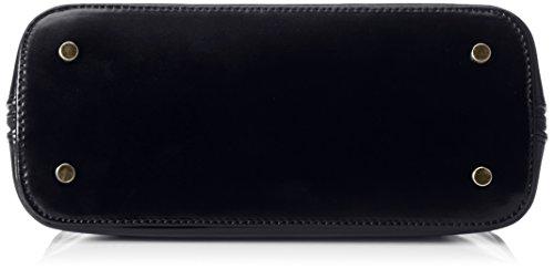 Picard sac à main en cuir petit modèle classique & berlin stickerkoenig, 26 x 18 x 11 cm (H x L x P) Bleu - ozean (dunkelblau)