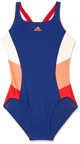 adidas Damen FIT 1PC CB Swimsuit, Dark Blue/Solar red, 38 Preisvergleich