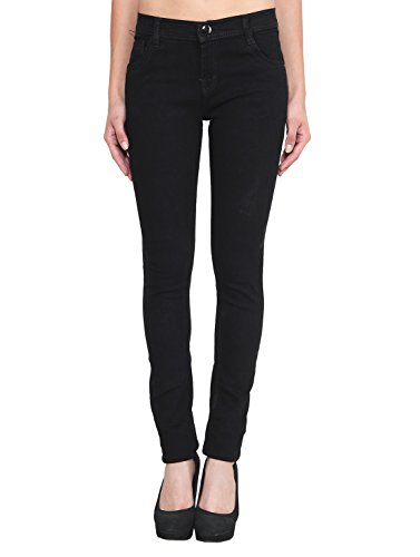 ALC Creations Black Slim Fit Jeans for Women