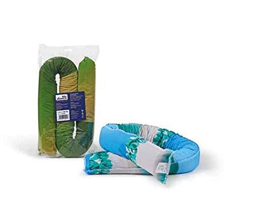 Blu dimora paraspifferi in stoffa cm.120