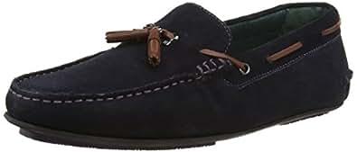 Ted Baker Muddi 3, Mocassins (Loafers) Homme, Bleu (Dark Blue), 40 EU
