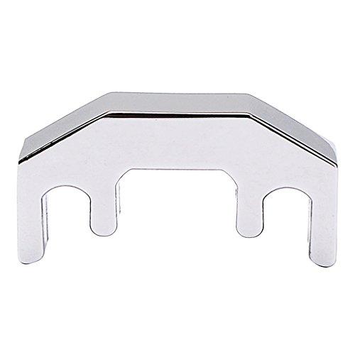 Metall-dämpfer (Gazechimp Dämpfer/ Metalldämpfer/ Hoteldämpfer aus Metall für Violine Viola Silber)