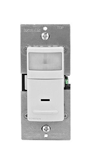 Leviton ips02–1LW 8Pack 180Grad PIR Wand Box Sensor, weiß