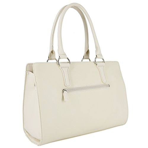 873eafaa4e47d ... David Jones - Damen Handtasche Henkeltasche Schultertasche - Elegant  Frauen Große Tasche mit Lange Griffe Henkel ...