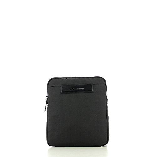 Borsello Uomo Piatto | Piquadro Pelle Stock | CA1358X3-Nero NERO