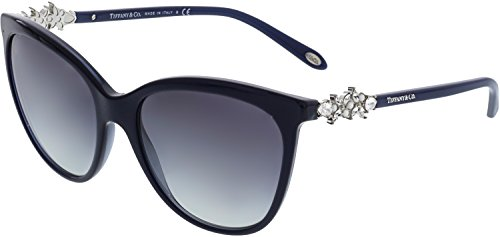 Tiffany 0ty4131hb 81913c 56, occhiali da sole donna, verde (pearl sapphire/greygradient)