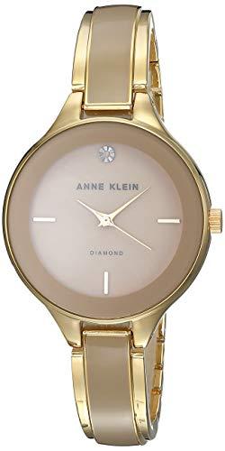 Anne Klein Classic Reloj de Mujer Cuarzo 32mm Caja de Acero AK/2702TNGB