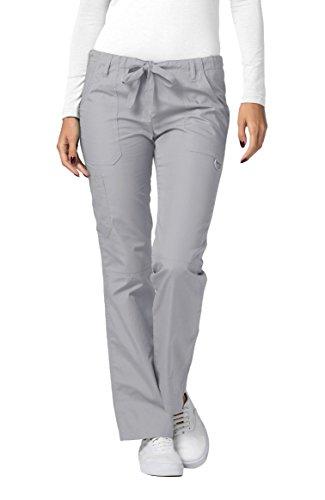 Adar Uniforms Medizinische Schrubb-hosen - Damen-Krankenhaus-Uniformhose 510 Color SLV   Talla: L Slv Tasche