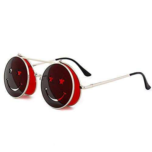 Smiley Sonnenbrillen, Trend Street Shooting, Ocean Lens Sonnenbrillen,C1
