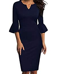 cd0b0508b981 Amazon.it  vestiti donna eleganti da sera lunghi - Donna  Abbigliamento