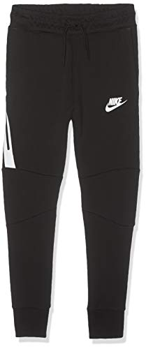 Nike Jungen B NSW TCH FLC Pants, Black/White, XL - Die Tech-hose