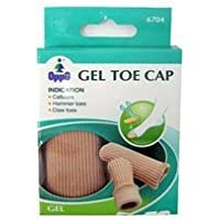 Oppo Gel Toe and Finger Cap, Size : Medium, Model No : 6704 - 2 / Pack by Oppo