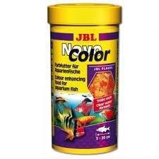 JBL NovoColor - Comida de colores para peces de acuario, 100 ml