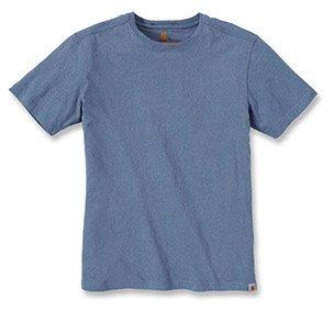 Carhartt Big   Tall Maddock kurzärmeliges T-Shirt Ohne Taschen für Herren,  Flint Stone, X-Small 2480be6485