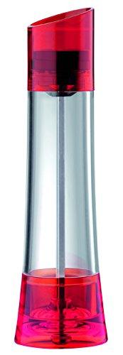 Bugatti GL3U-02142 Glamour Salz- oder Pfeffermühle, 6°x°6°x°18°cm, Rot
