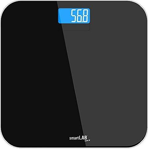 smartLAB scale W pèse personne de salle de bain et transfert de données sans fil ANT + et Bluetooth 4.0 BLE