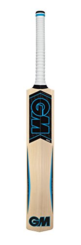 GM Unisex Neon Cricket 101 Bat, blau - Cricket-fledermäuse Gm
