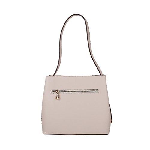 V 1969 - Sac porté épaule pour femme (5VXW84366_CREMA) - Blanc Blanc