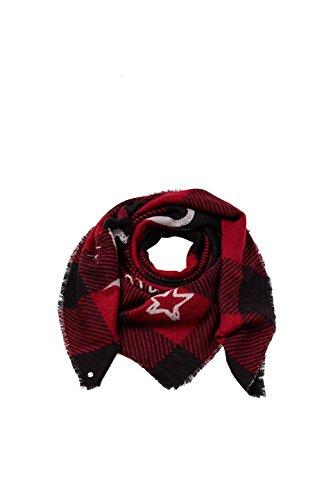 Esprit Accessoires Damen Schal 097EA1Q010, Rot (Dark Red 610), One size Preisvergleich
