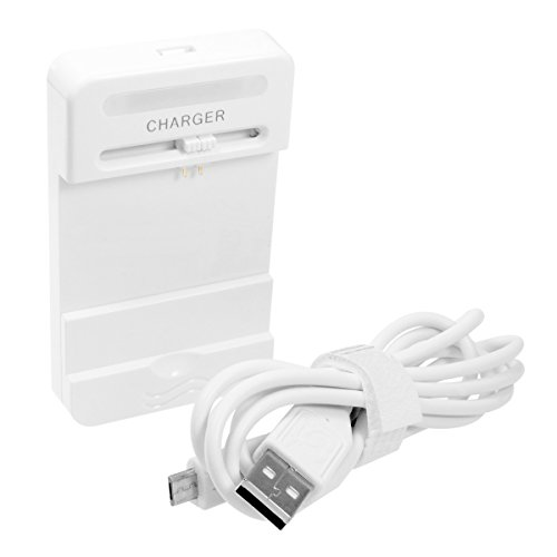 Universal Akku-Ladegerät für Nokia, Samsung, Sony-Ericsson, Motorola, GoPro Hero, Camsports HDMax etc. - weiß