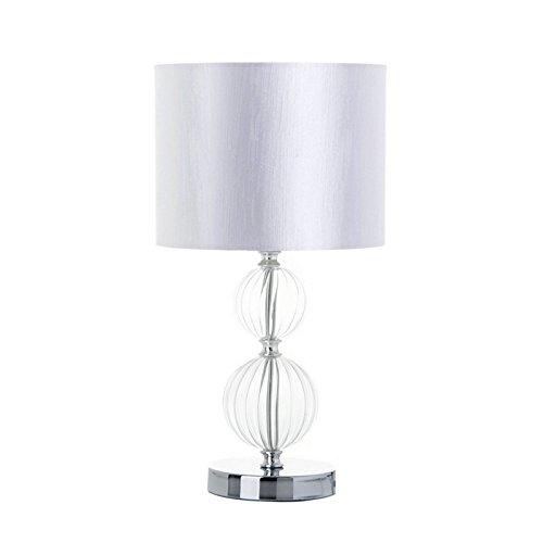 Lámpara de sobremesa Moderna Transparente de Cristal para salón ...