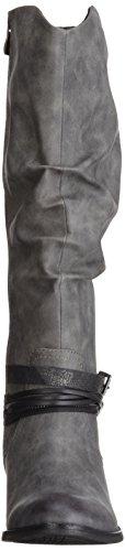 Marco Tozzi 25531, Bottes Longues Femme Gris (GREY ANTIC COM 202)
