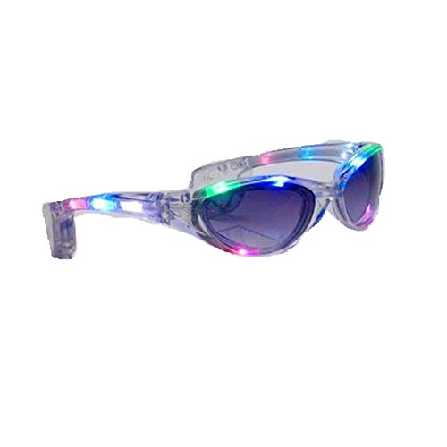 JaneDream Hot Led Glasses Flashing Eyeglasses Outdoor Party Light