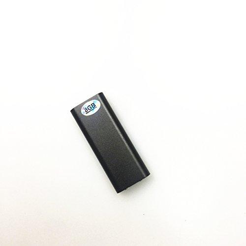 Wiiguda@USB Mini Digital Sound Recorder Portable Digital Voice Recorder,Digitales Diktiergerät 8GB mit Mikrofon,MP3 Spielen.