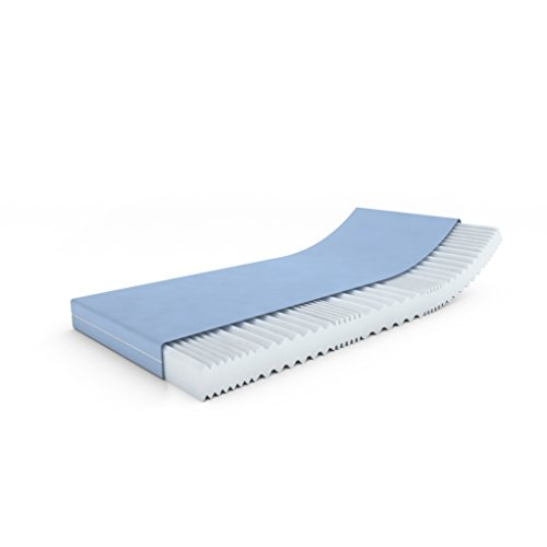 MSS®VitalFoam®Wellness Matratze Memory Marken Kaltschaum / 90 x 190 cm / 7 Zonen