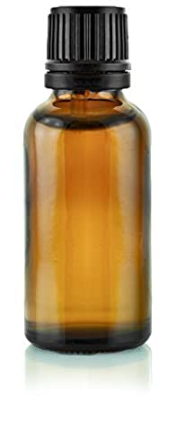 30ml Ambre Bouteille & Sécurité Compte-gouttes Couvercle - 20 bottles