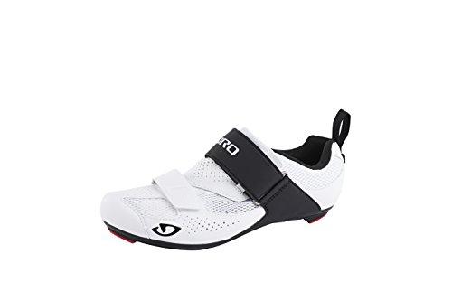 Giro Inciter Tri Triathlon Fahrrad Schuhe weiß/schwarz 2017: Größe: 44.5
