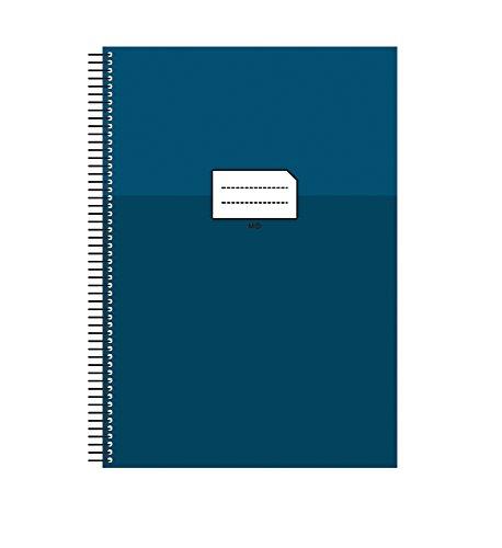 Miquelrius 47036 - Cuaderno escolar folio milimetrado, con margen azul, 80 hojas