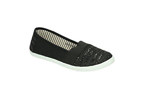 Jumex - Chaussures Fermées Pour Femme Noire