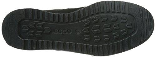 Ecco  ECCO FRASER, Baskets pour homme Noir Noir Schwarz (BLACK/MOONLESS 55869)