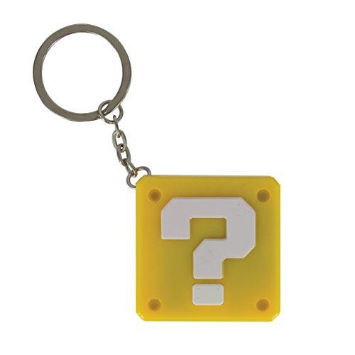 Flashpoint 509562 Super Mario Fragezeichen-Block Schlüsselanhänger Licht