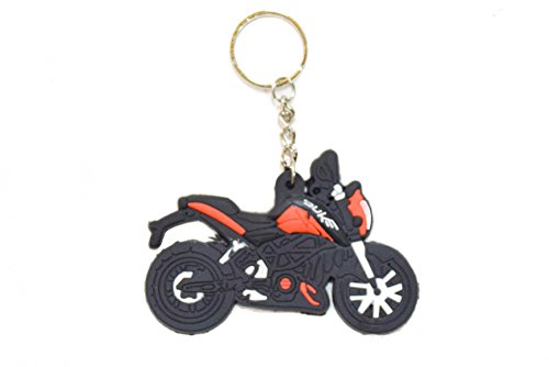 BUY 1 GET 1 Bike Car Keychain Rubber Duke  available at amazon for Rs.282