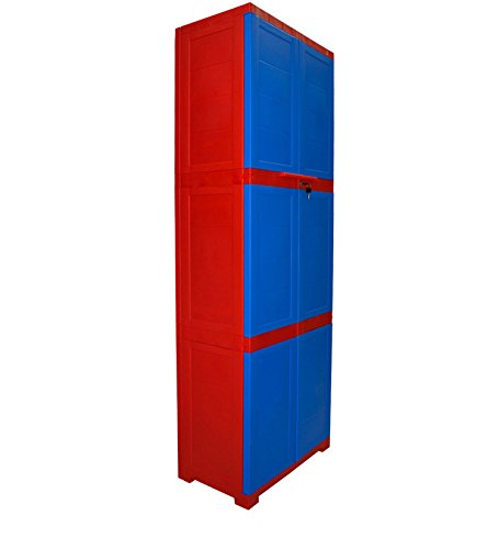 Cello Novelty Large Cupboard (Red and Blue)
