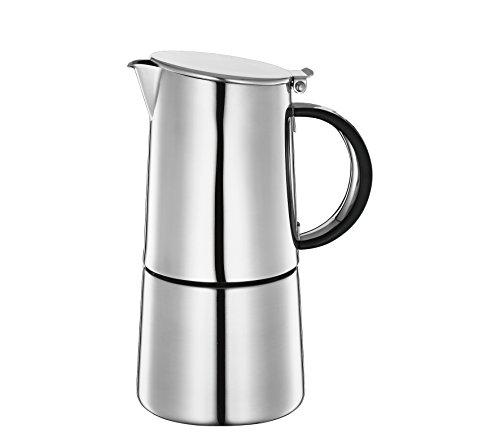 Cilio Nabucco - Cafetera espresso (capacidad 4 tazas)
