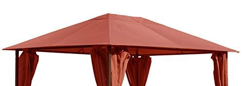 QUICK STAR Ersatzdach für Garten Pavillon 3x4m Terra Antik Pavillondach Ersatzbezug