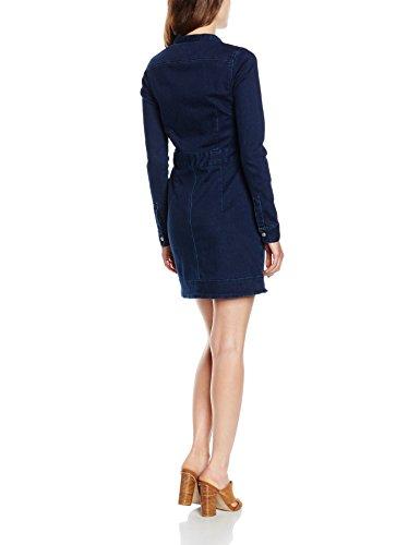 Pepe Jeans London Hoops, Vestito Donna Blu (Denim 000)