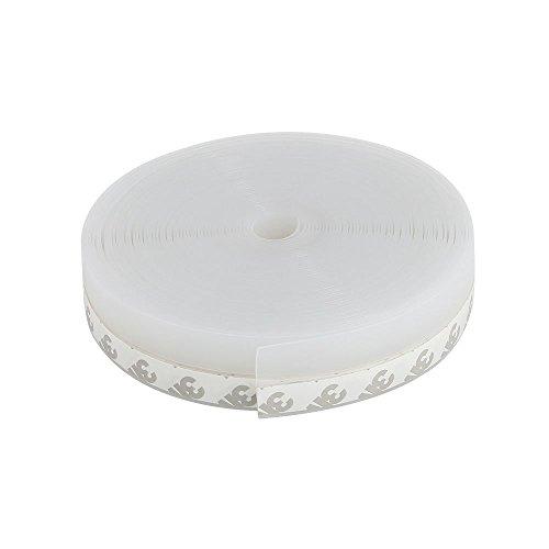 Codirato striscia sigillante per guarnizione nastro adesivo impermeabile guarnizione per porta e finestra(25mm*10m, trasparente)