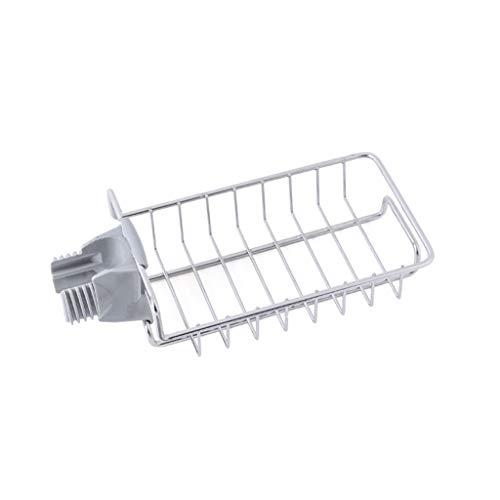 WT-JIAJU Spüle Wasserhahn Abfluss Rack Hängende Seife Regalhalter for Badezimmer Einfach Zu Montieren Kein Bohren (Size : 1) -