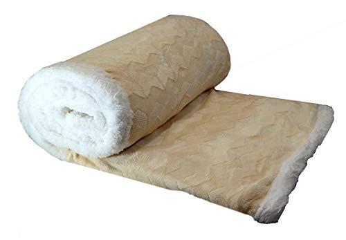 Plaid matrimoniale agnellato sherpa morbido pile peluche divano letto xxl invernale coperta soffice calda grande 210x250cm fantasia natale 2018 coperte morbide lana pecora natalzio unisex