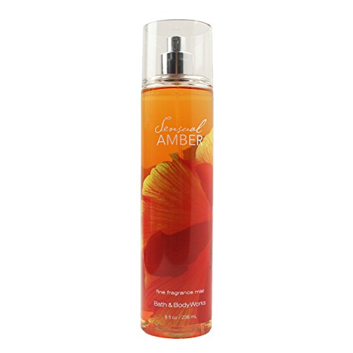 Bath & Body Works Sensual Amber Fine Fragrance Mist 8 oz / 236 ml