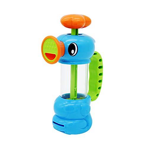 ZREAL Wasserpumpen-Baby-Bad-Spielzeug-Pumpen-Entwurfs-Hippocampi-Form-umweltfreundlicher Plastik